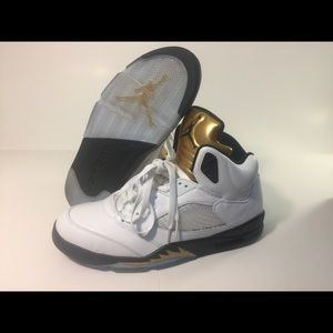 3277ef630e3fe7 ... black metallic gold coin bdfb3 18335  germany jordan shoes air jordan  retro 5 olympic gold size us 13 f6501 daf1a